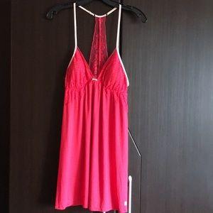 Victoria's Secret lace babydoll lingerie size S/P